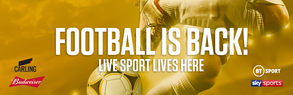 Watch live football at Shandwick's