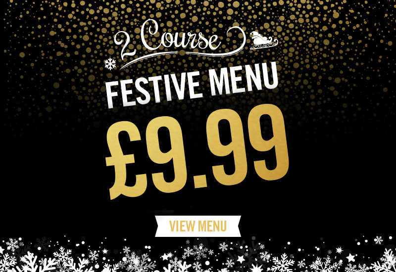 Festive Menu at Shandwick's